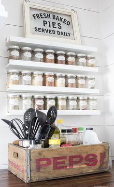 69 best kitchen spice rack images kitchen storage kitchen rh pinterest com