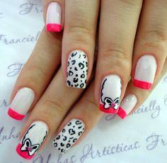 nails art unhas decoradas desenhadas