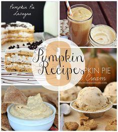 eat.sleep.MAKE.: 8 Pumpkin Recipes for Fall   #pumpkin