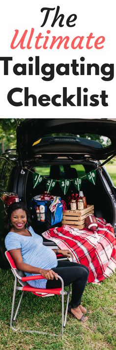 The Best checklist for making sure tailgating is a breeze.  Use this list to make sure you are prepared for your tailgate party and have all the tailgating essentials.