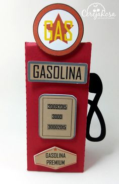 Caixa Bomba Gasolina Festa Carros                                                                                                                                                      Mais Race Car Birthday, Race Car Party, Boy Birthday, Motorcycle Birthday, Festa Hot Wheels, Hot Wheels Party, Vintage Car Party, Vintage Race Car, Car Themed Parties
