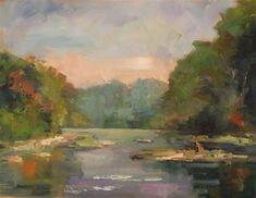 "Daily Paintworks - ""Rappahannock"" - Original Fine Art for Sale - © Carol Josefiak"