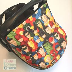 Carseat Canopy - Maxi Cosi Carseat Hood - Sun Canopy - Handmade Cover - Baby Sunshade - New Baby - Car Capsule Canopy - Replacement Hood