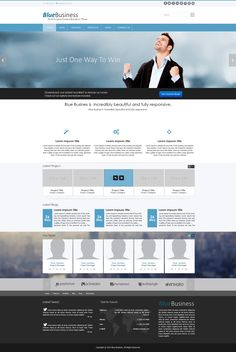 blue business minotor blue business is a html bootstrap kit