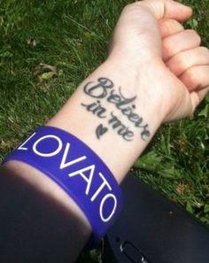 Demi Lovato Inspired Tattoo