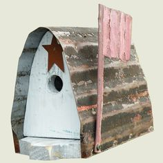 Rustic Mailbox Birdhouse