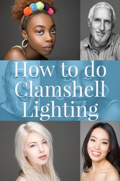 How to do Clamshell Lighting: A Reliable Two Light Setup