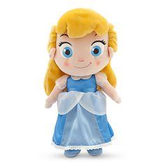Toddler Cinderella Plush Doll - Small - 12''