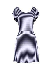 NAVY DRESS -Vestidos