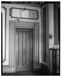 FIRST FLOORSOUTHEAST AND SOUTHWEST ROOMS TYPICAL DOOR AND CASE. - & West front from southwest - Floweree 2309 Pearl Street Vicksburg ... pezcame.com