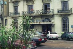 Philippinen Manila Hotel Luneta April 1989 500