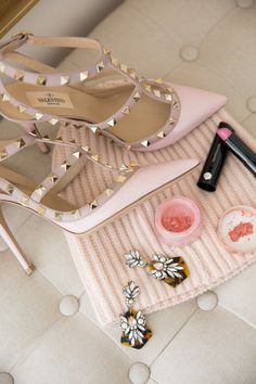 Pale Pink Valentinos. What dreams are made of.<3