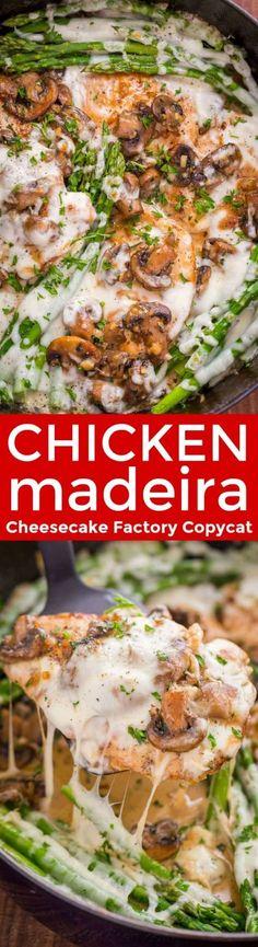 Chicken Madeira with