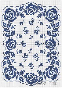 Gallery.ru / Фото #33 - цветы. схема на 1 лист - irinika