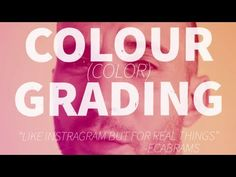 ▶ Cross Process Colour (color) Grading - Adobe After Effects tutorial - YouTube