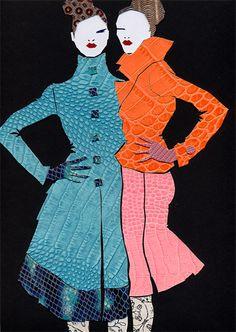 ピエール-ルイ・マシア fashion illustration