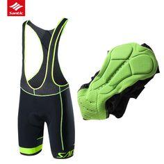 Santic Cycling Bib Shorts Men Tour De France Breathable Downhill DH Road MTB  Mountain Bike Bib 24c3e9331