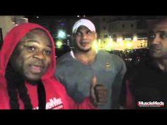 ▶ Kai Greene in Italy Kai meets Dennis James and Big Ramy! - YouTube
