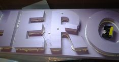 The art of faking it - Stage design, themed rooms, props and more: Sculpting stage props: 3D letters with pink foam