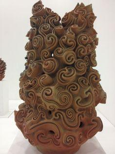 contemporary Jomon pottery by Ifurai