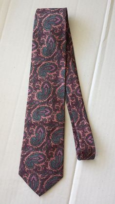Men's #shoes GANT men dress silk tie pink with paisley pattern Made in USA from Italian silk withing our EBAY store at  http://stores.ebay.com/esquirestore