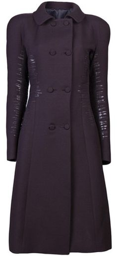 BOTTEGA VENETA Long Sleeve Coat - Lyst
