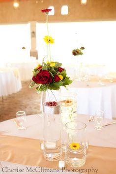 Floating design, wedding centerpiece