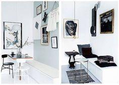 Hvid vs. Grøn væg i Mette Helena Rasmussens spisekrog – Hvilken stil kan I bedst lide? 1 eller 2? #hjemmehosmettehelena #retrovilla