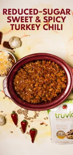 Cool weather calls for hot chili. Make our reduced-sugar Sweet and Spicy Chili for dinner tonight and enjoy again for lunch tomorrow!