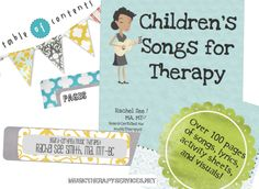 Children's Songs for Therapy