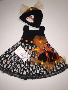 Mic Crafts Handmade Crochet Baby Costume Ghosts Halloween 3pc | eBay