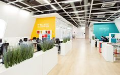 Design concept of the interior office for IT company on Behance