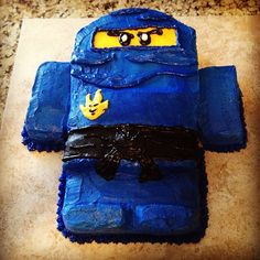 """Keaton's """"Jay Ninjago"""" Cake!!"""