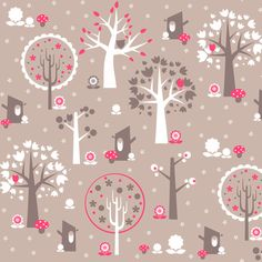 Autumn In the Woods fabric by natitys on Spoonflower - custom fabric