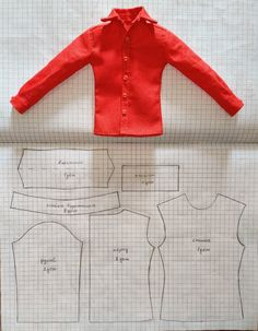 Diy Ken Doll Clothes, Sewing Barbie Clothes, Barbie Sewing Patterns, Doll Dress Patterns, Sewing Dolls, Clothing Patterns, Doily Patterns, Dress Sewing, Baby Born Kleidung