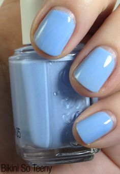 Bikini So Teeny is a slightly shimmering cornflower blue. Summer collection for 2012