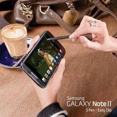 El estilo se demuestra cuando sacas tu Galaxy Note II. #Samsung #Galaxy