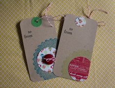 holiday tags | 52 Weeks Project