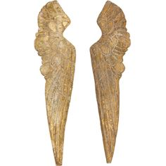 Small Wood Wing Pair $79.00