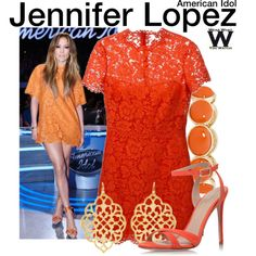 Inspired by Jennifer Lopez on the March 11th, 2015 episode of American Idol.