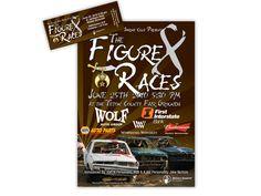 Jackson Hole Shrine Club Figure 8 Races Tickets and Flyers