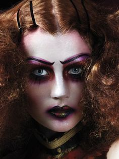 """Illamasqua """"Theatre of the Nameless"""" – Campanha F/W – Winter MakeUp Makeup Brands, Best Makeup Products, Beauty Without Cruelty, The Rocky Horror Picture Show, Character Makeup, Theatrical Makeup, Creative Makeup Looks, Winter Makeup, Dramatic Makeup"""