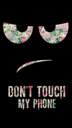 Não toque em meu Telefone wallpaper