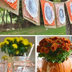 Pumpkin Patch 1st Birthday Party {1st Birthdays}