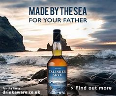 Talisker Skye takes the distillery's classically rugged character and softens it out, while maintaining the smoky and sweet notes the distillery is known for. Best served neat or with a little water. More approachable, but undeniably Talisker, it's the ideal Father's Day gift for those looking to explore the smoky world of Single Malts.