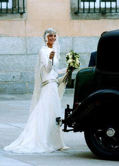 Royal Wedding Gowns, Royal Weddings, Bridal Looks, Bridal Style, Laura Ponte, Muslimah Wedding Dress, Spanish Wedding, Royal Brides, Brides And Bridesmaids