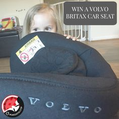 Going back to rearwards-facing with the Volvo Britax {AND WIN!}