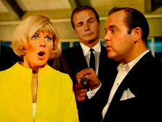 Doris Day, Eric Fleming, and Dom DeLuise in The Glass Bottom Boat | Greenman