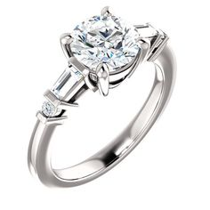 Cassie - 1.5 Carat Forever Brilliant Moissanite Engagement Ring