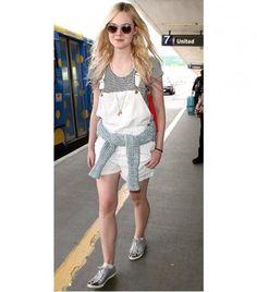 Elle fanning overalls